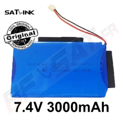 Batterie originale SATLINK HD-LINE 3000 mAh 7.4V