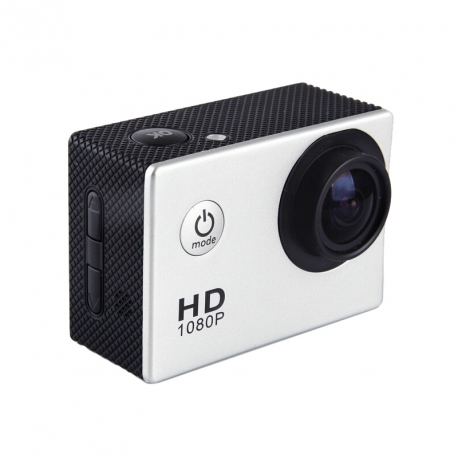 "Mini camera sport HD 1080p LCD 1,5"" TFT 170 degres Waterproof + accessoires"