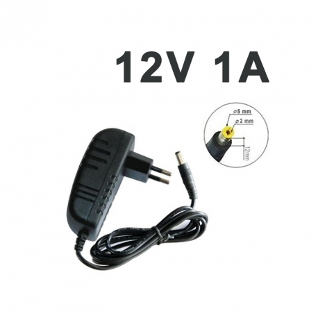 ALIMENTATION 12V 1A - 5 mm x 2 mm
