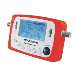 HD-LINE SF-500 DIGITAL SATFINDER POINTEUR SATELLITE FINDER REGLAGE PARABOLE