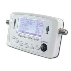 HD-LINE SF-500 WHITE DIGITAL SATFINDER POINTEUR SATELLITE FINDER REGLAGE PARABOLE