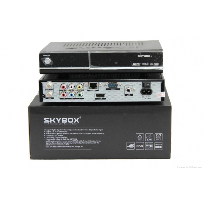 skybox f3 hd r cepteur satellite fta os linux. Black Bedroom Furniture Sets. Home Design Ideas