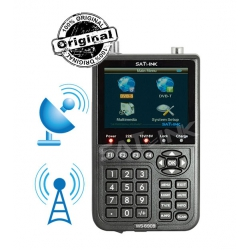 SATLINK ws 6909 DVB-S and DVB-T FINDER- MESUREUR DE CHAMPS SATELLITE ET TERRESTRE COMBO