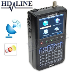 Mesureur de champ HD-LINE SF-6918 avec LED - Satfinder pointeur satellite