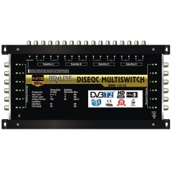 PRO MULTISWITCH 17/12 HD-LINE - 4SAT - 1TER / 12DEMOS