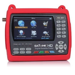 "Satlink WS-6951 Pointeur Satellite DVB-S2 MPEG-2 / H.264 Ecran 4.3"" Couleur LCD TFT"