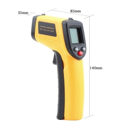 Laser LCD Display Digital IR Infrared Thermometer Temperature Meter Gun Point -50~550 Degree