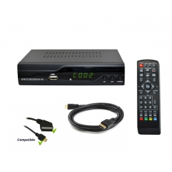 Tempo TNT 3000 Full HD 1080P Receiver TV HDTV Box Terrestrial
